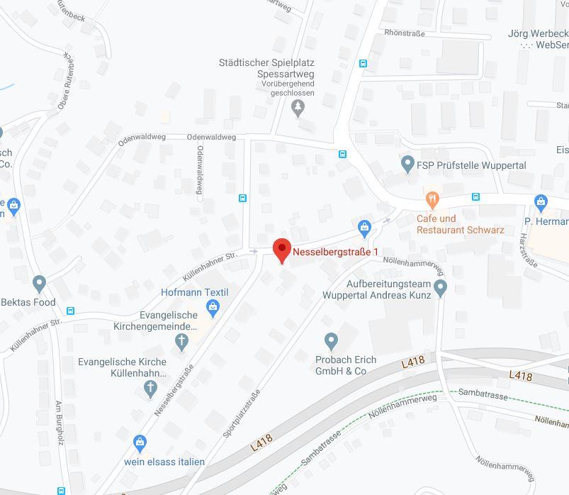 plehwe nesselbergstraße gmaps